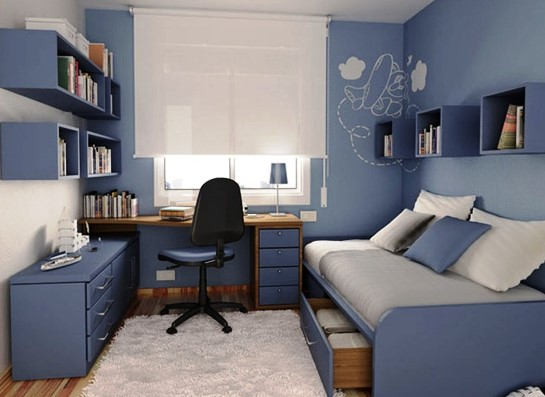 Desain Interior Kamar Tidur Anak Ukuran 3×3
