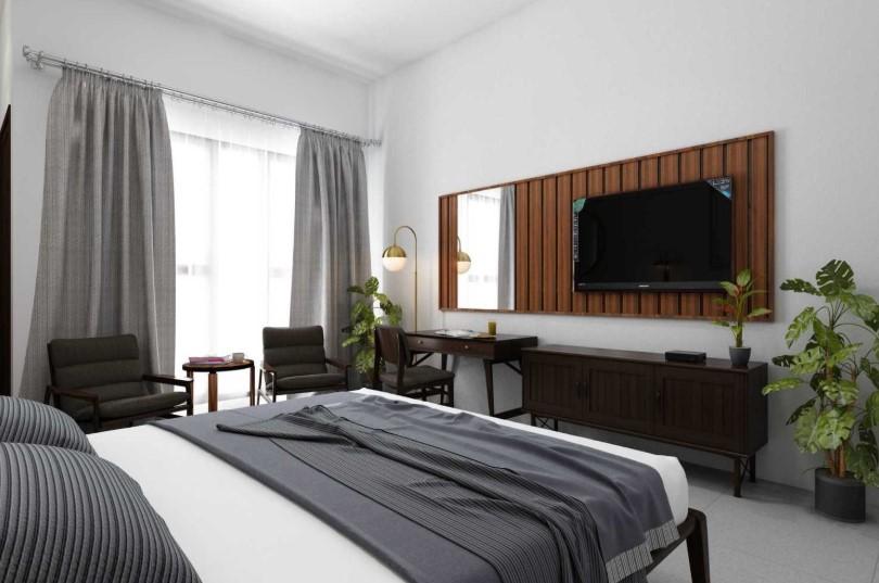 Desain Interior Kamar Tidur Hotel