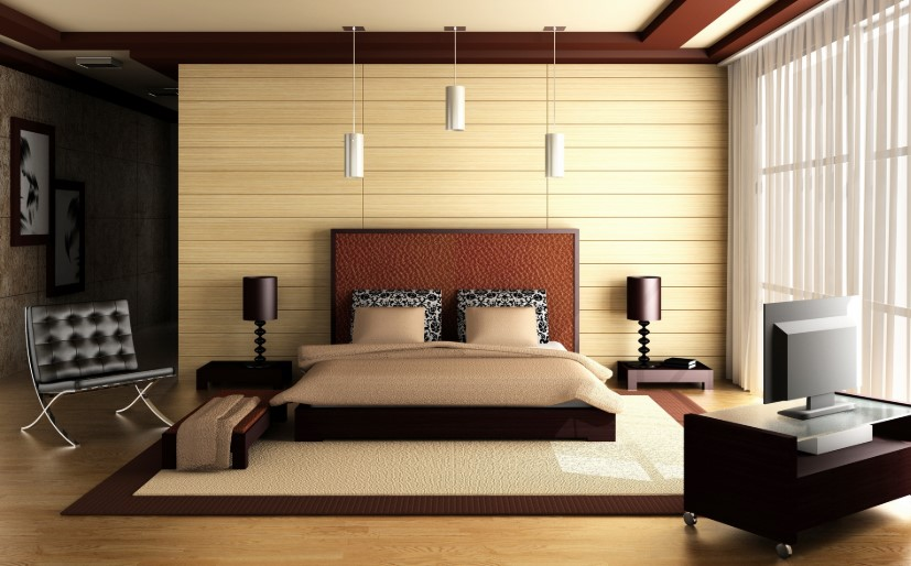 Desain Interior Kamar Tidur Minimalis 2019