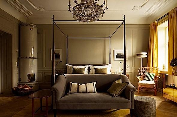 Desain Interior Kamar Tidur Minimalis Klasik