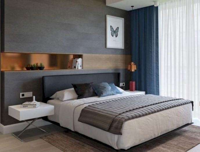 Gambar Desain Interior Kamar Tidur Minimalis Sederhana
