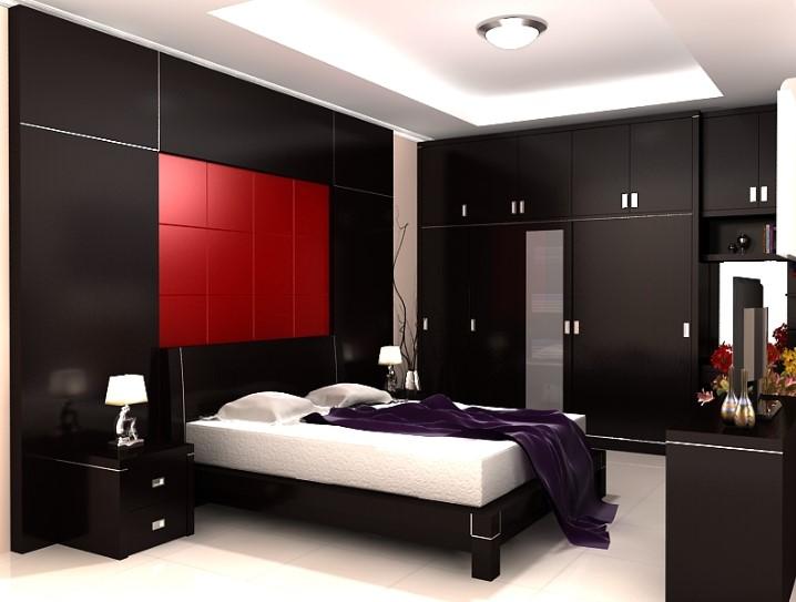 Desain Interior Kamar Tidur Minimalis Ukuran 4x4