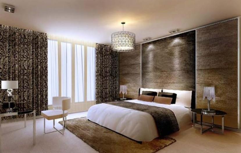 Desain Interior Kamar Tidur Romantis