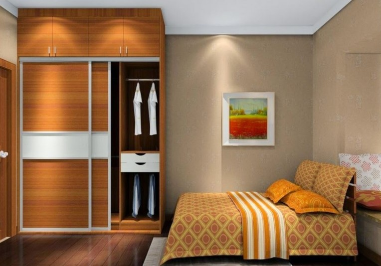 Desain Interior Kamar Tidur Sempit