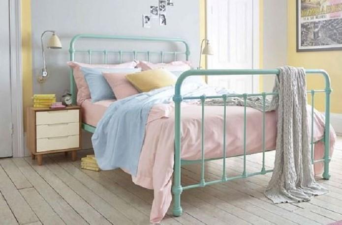 Desain Interior Kamar Tidur Shabby Chic