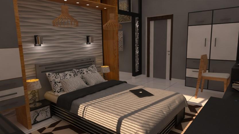 Desain Interior Kamar Tidur Simple