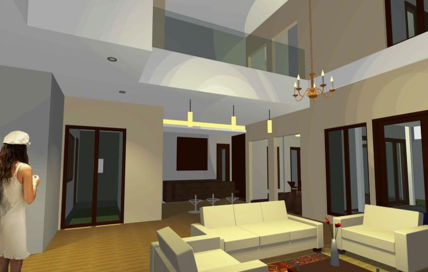 Desain Interior Rumah Minimalis 2 Lantai 6x12