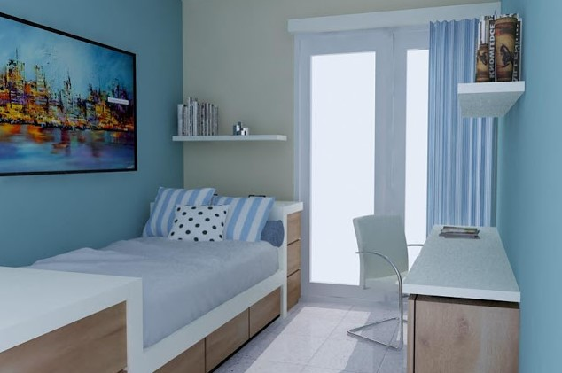 Desain Jendela Kamar Tidur Sederhana