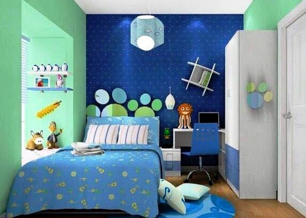 Desain Kamar Tidur Anak Laki Laki Ukuran 3×3