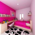 Desain Kamar Tidur Anak Perempuan Ukuran 3×3