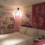 Desain Kamar Tidur Anak Tema Hello Kitty