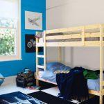 Desain Kamar Tidur Anak Warna Biru