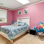 Desain Kamar Tidur Anak Warna Pink