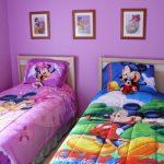Desain Kamar Tidur Anak Warna Ungu