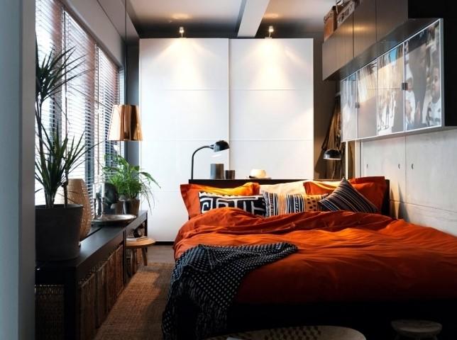 Desain Kamar Tidur Elegan Ukuran Kecil