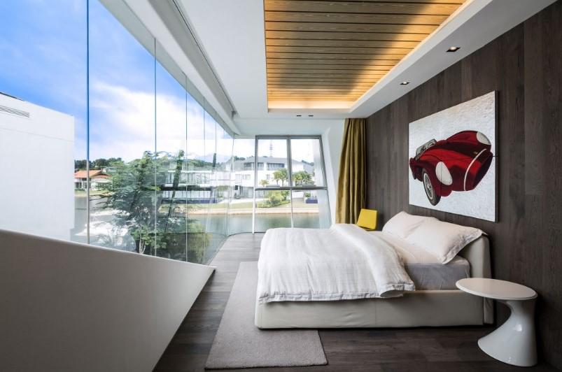 Desain Kamar Tidur Futuristik