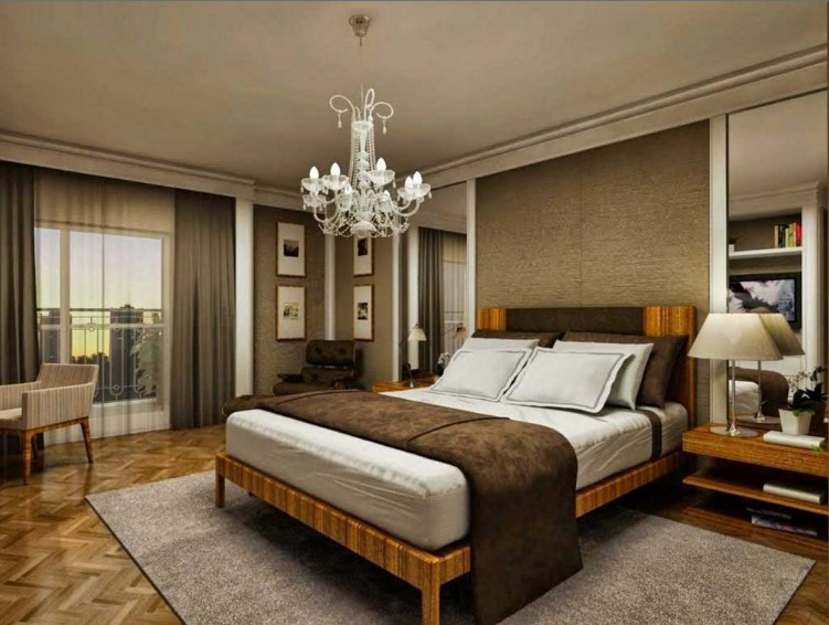 Desain Kamar Tidur Klasik Ukuran 3x3