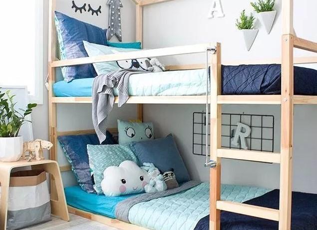 Desain Kamar Tidur Minimalis 2 Kasur