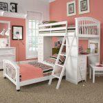 Desain Kamar Tidur Minimalis Warna Pink