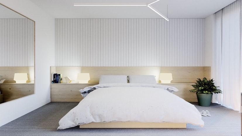 Desain Kamar Tidur Nuansa Putih