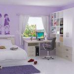 Desain Kamar Tidur Remaja Perempuan Ukuran 3×3