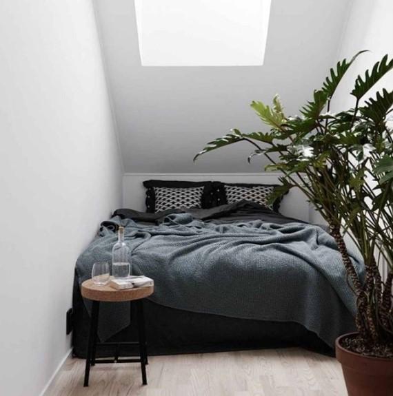 Desain Kamar Tidur Sederhana Tanpa Jendela