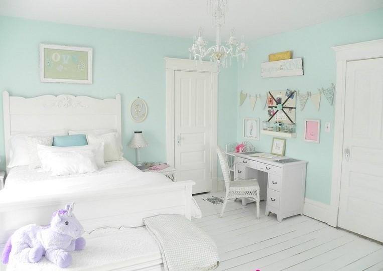 Desain Kamar Tidur Sederhana Warna Pastel