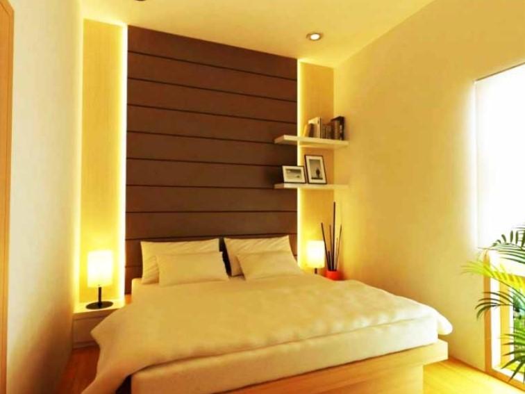 Desain Kamar Tidur Ukuran 3x3 Sederhana dan Cantik