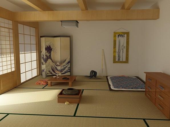 Desain Kamar Tidur Ukuran 3x3 ala Jepang