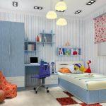 Desain Kamar Tidur Ukuran Kecil Anak