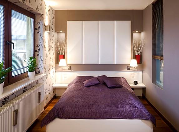 Desain Kamar Tidur Ukuran Kecil Modern