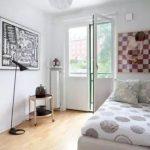 Desain Kamar Tidur Ukuran Kecil Sederhana