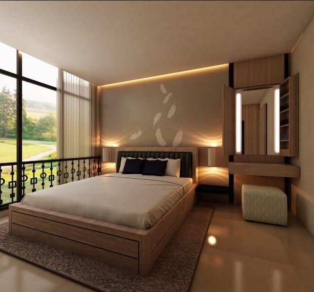 Desain Kamar Tidur Unik Bergaya Elektrik