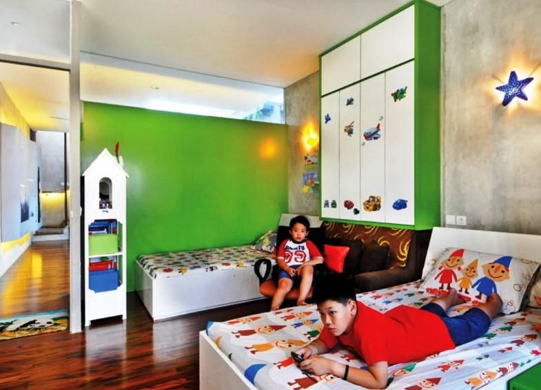 Desain Kamar Tidur Unik Untuk Anak-anak