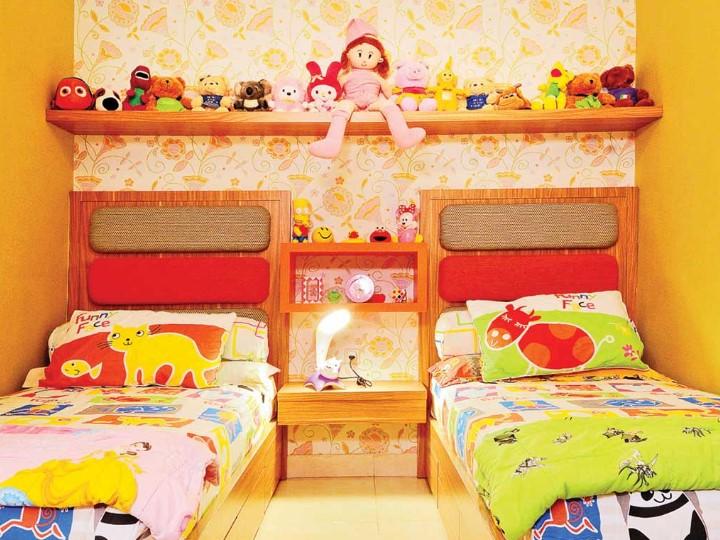 Desain Kamar Tidur Untuk 2 Anak