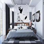 Desain Kamar Tidur Urban Modern