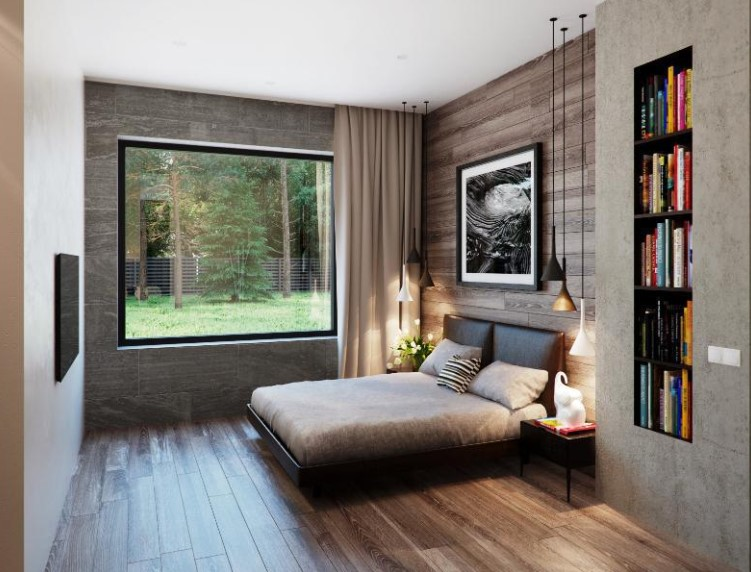 Desain Kamar Tidur Utama Minimalis Ukuran Kecil