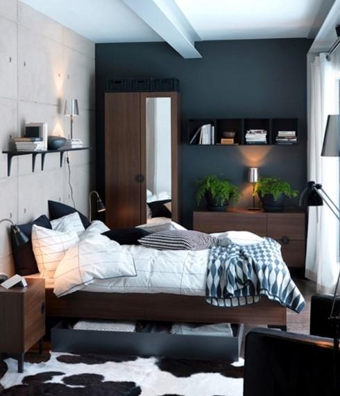 Desain Kamar Tidur Utama Ukuran Kecil