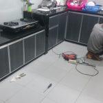 Desain Kitchen Set Aluminium