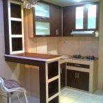 Desain Kitchen Set Aluminium Depok