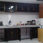 Desain Kitchen Set Aluminium Hitam