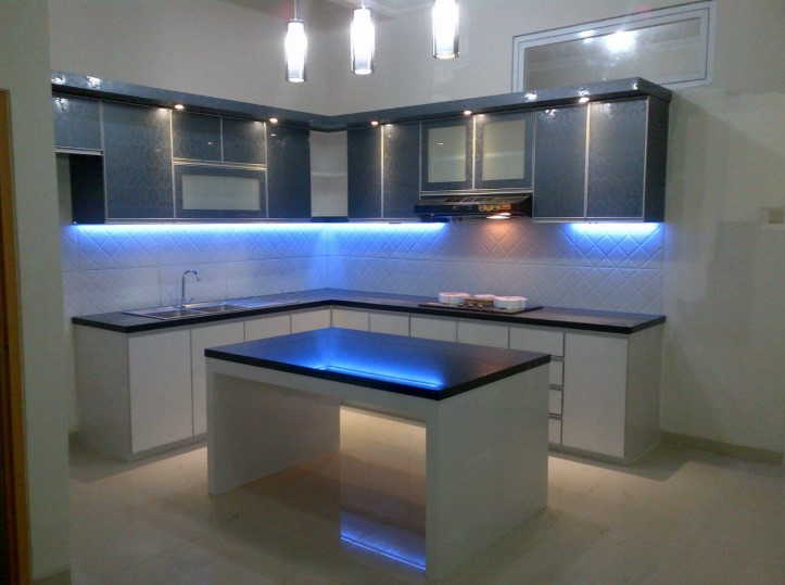 Desain Kitchen Set Aluminium Jakarta