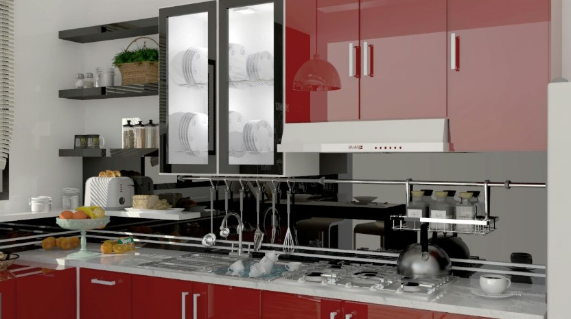 Desain Kitchen Set Aluminium Malang