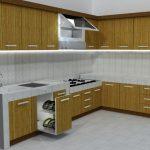 Desain Kitchen Set Aluminium Minimalis Murah
