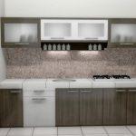 Desain Kitchen Set Aluminium Minimalis Sederhana