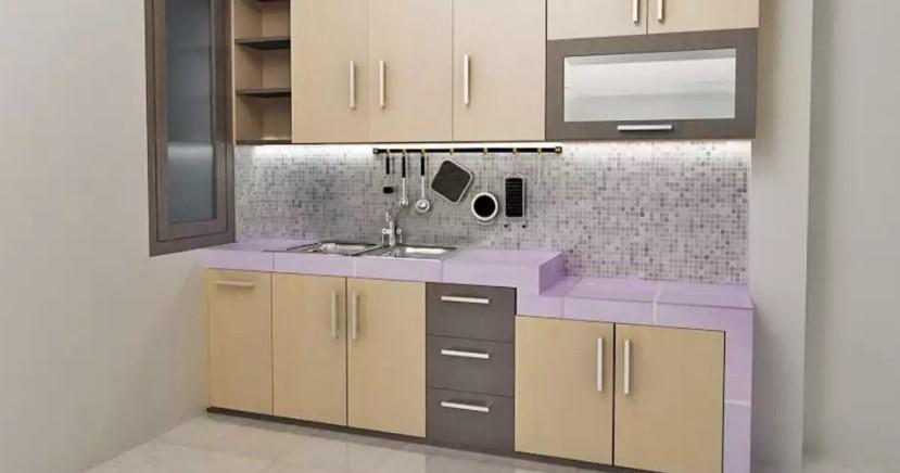 Desain Kitchen Set Aluminium Murah
