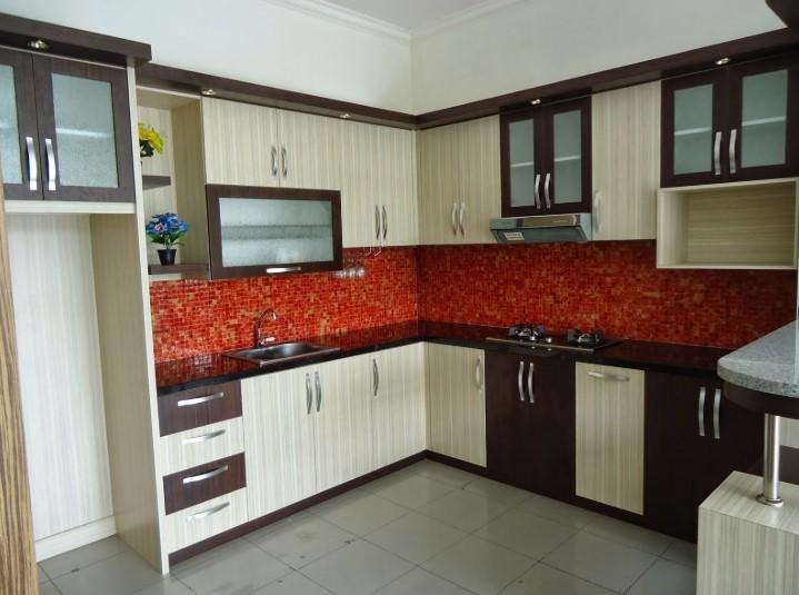 Desain Kitchen Set Aluminium Palembang