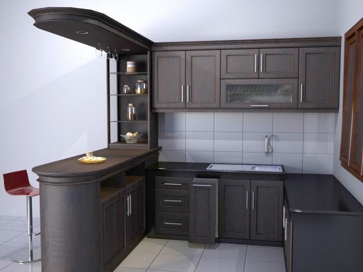 Desain Kitchen Set Aluminium Pekanbaru