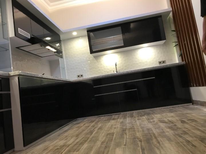 Desain Kitchen Set Aluminium Royal