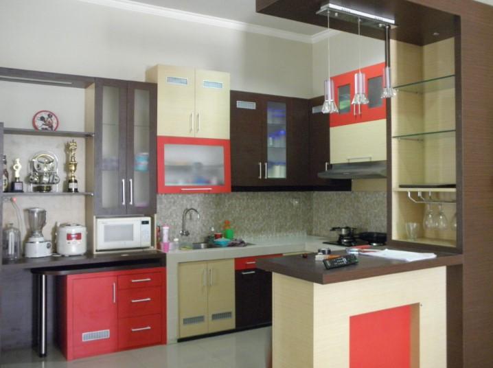 Desain Kitchen Set Aluminium Surabaya